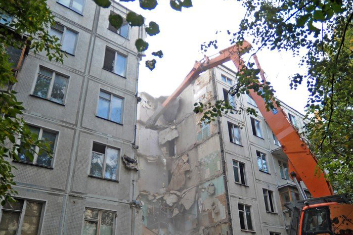 Хованская о сносе пятиэтажек